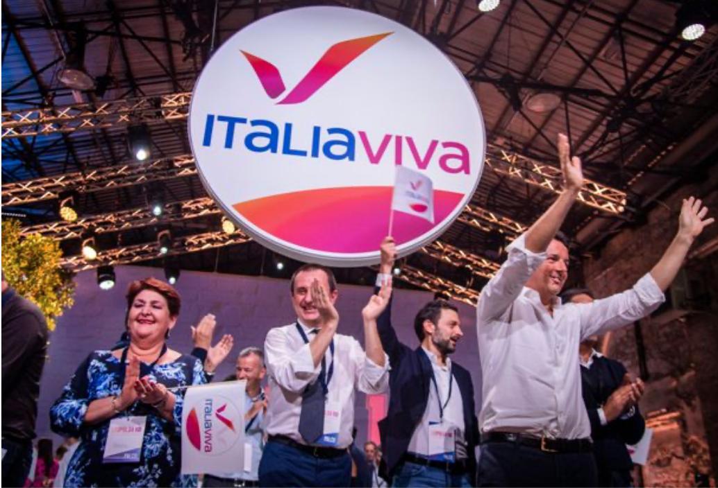2019 - Lancio di Italia Viva alla Leopolda